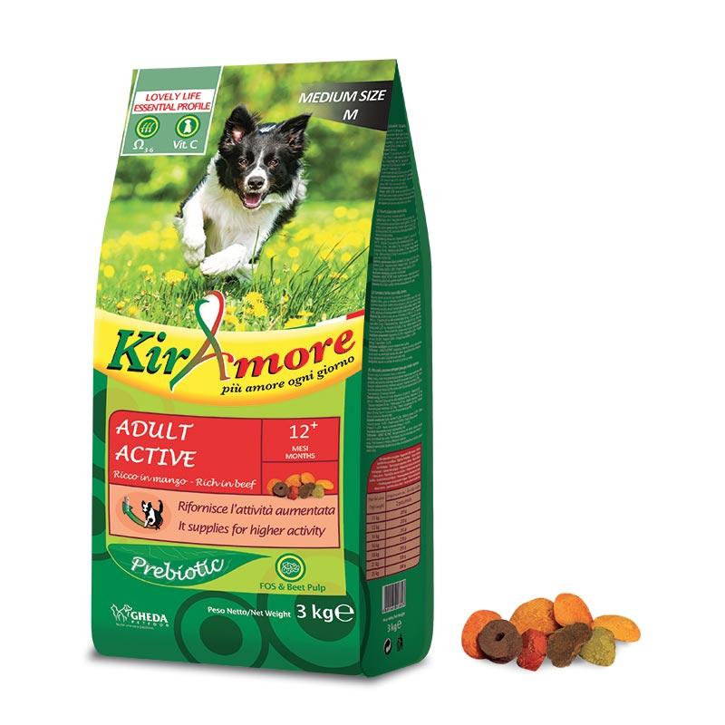 Сухой корм для активных собак с говядиной Active 15кг Кишинев