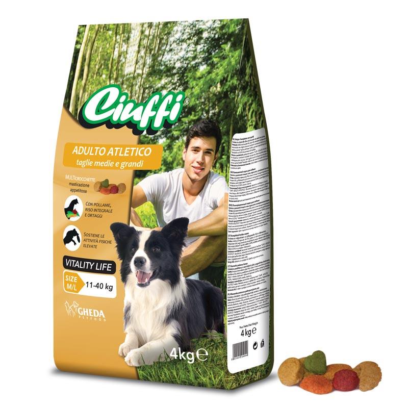 Сухой корм для собак для взрослых собак Ciuffi Atletico 10кг Кишинев