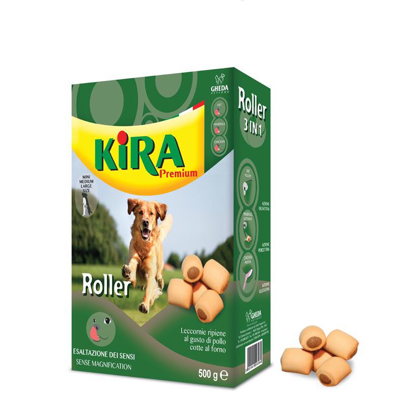 Фаршированный бисквит Kira Premium Food Roller 500г Кишинев