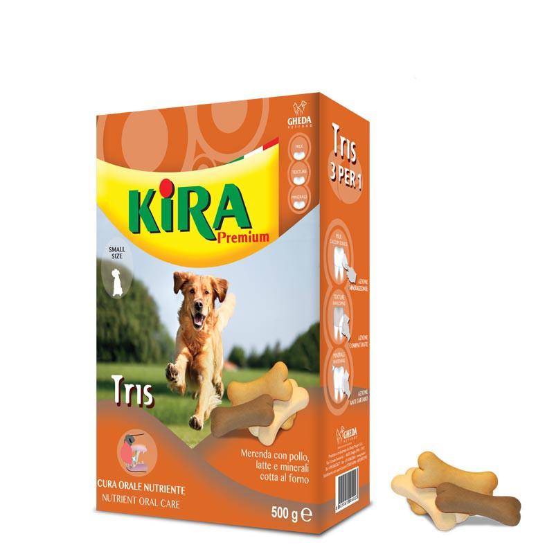 Молочный хрустящий бисквит Kira Premium Tris 500г Кишинев