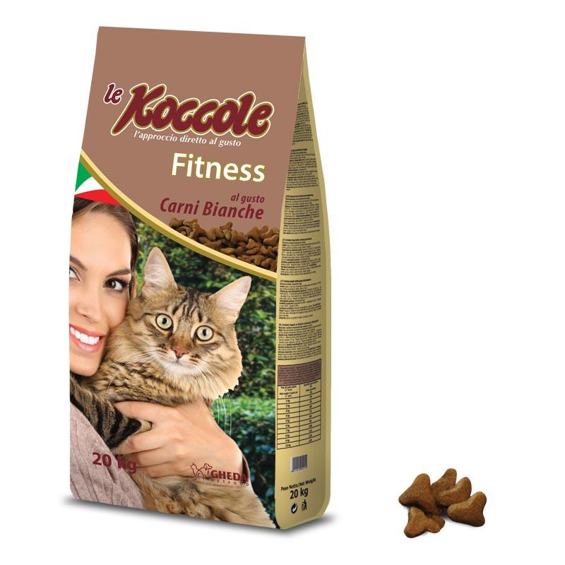 Сухой корм из белого мяса для взрослых кошек Koccole Fitness 20кг Кишинев