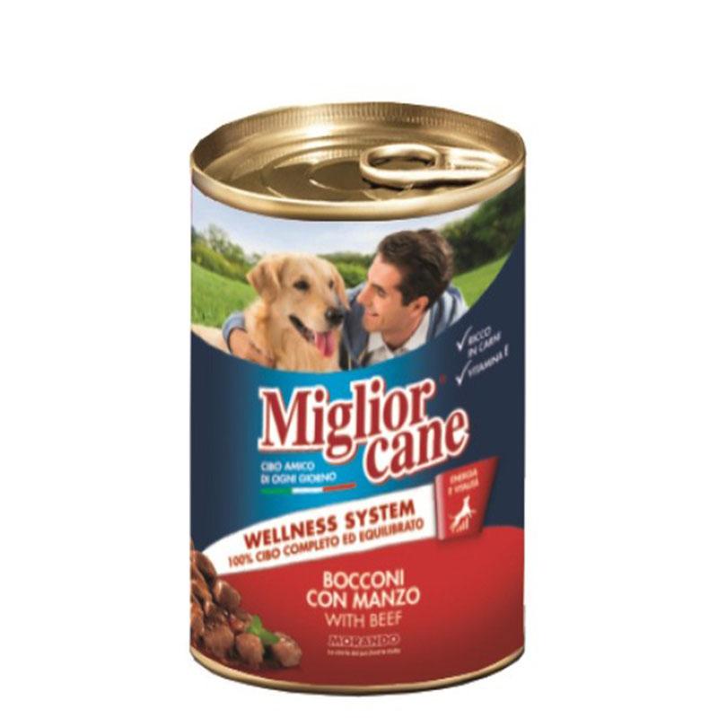 Кусочки из говядины для собак Miglior Cane Manzo 405г Кишинев