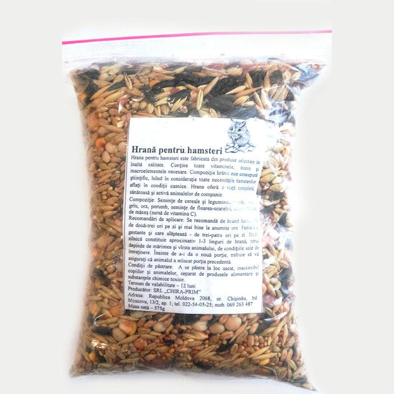 Полнорационный сухой корм для хомяков 575г Кишинев