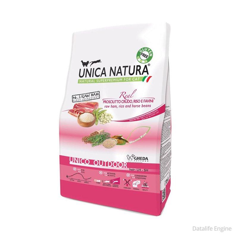 Суперпремиум корм для активных кошек Unica Outdoor 1,5кг Кишинев