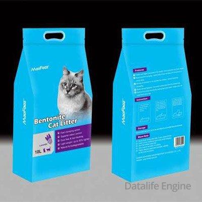 Супервпитывающий наполнитель для кошек с ароматом лаванды 10Л Кишинев
