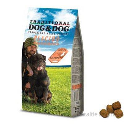 Сухой корм для взрослых собак Dog&Dog Рыба 20кг Кишинев