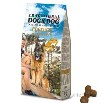 Сухой корм для взрослых собак Dog&Dog Утка 10кг Кишинев