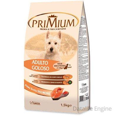 Суперпремиум сухой корм для мелких пород  primium Goloso 1,5кг Кишинев
