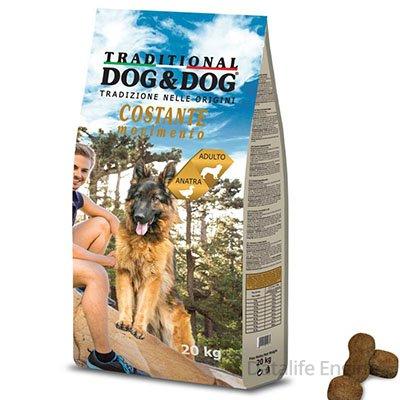 Сухой корм для взрослых собак Dog&Dog утка 20кг Кишинев