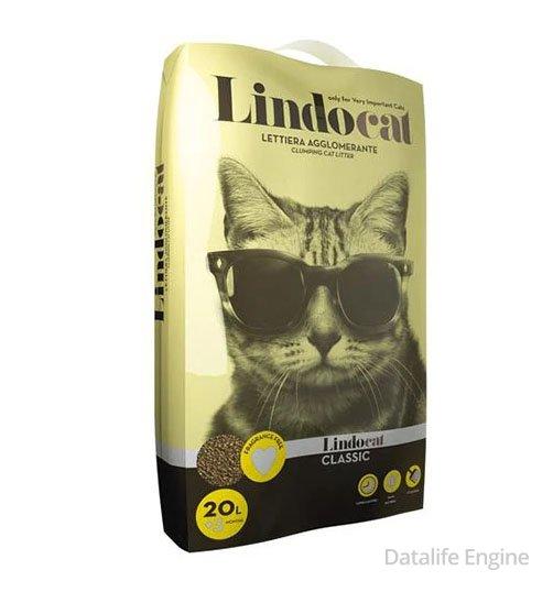 Гигиенический наполнитель комкующиеся LindoCat 20кг Кишинев