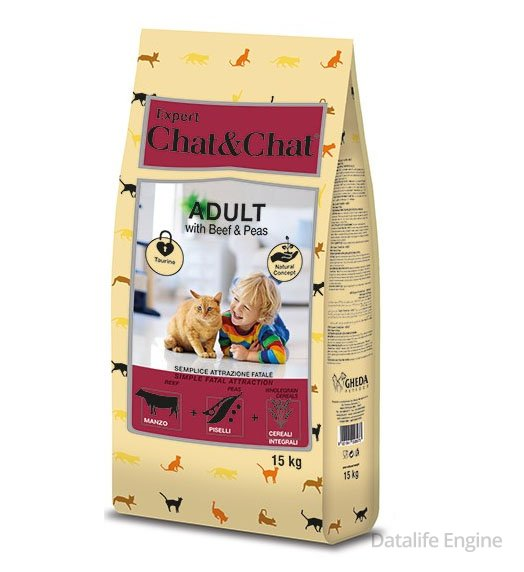 Сухой корм для кошек EXPERT CHAT&CHAT 15кг Кишинев