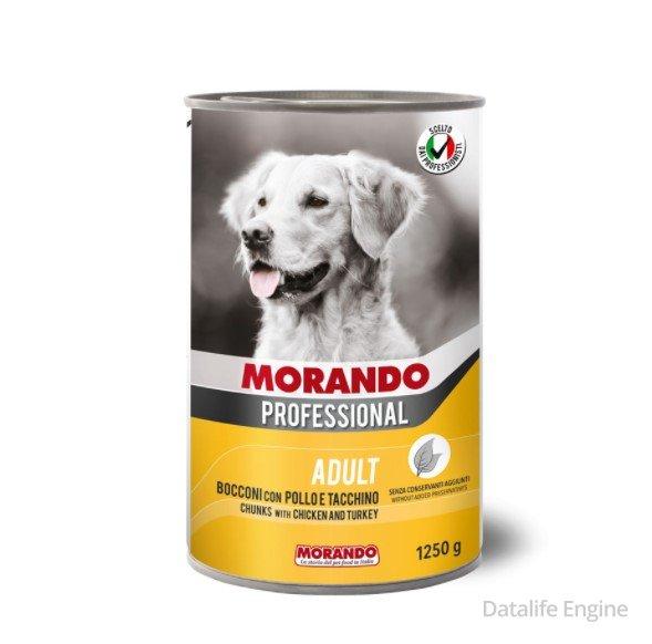 Кусочки курицы и индейки в соусе для собак Miglior Pollo 1,250кг Кишинев