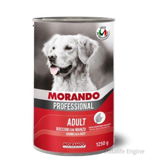 Кусочки говядины в соусе Miglior Cane Professional Manzo 1,250кг Кишинев