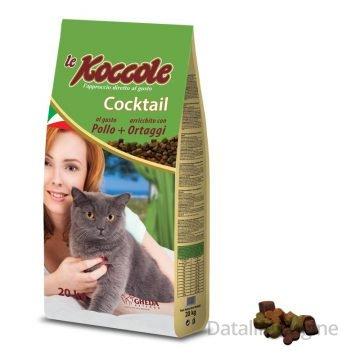 Сухой корм для  кошек Koccole Cocktail 2 кг с курицей и овощами Кишинев