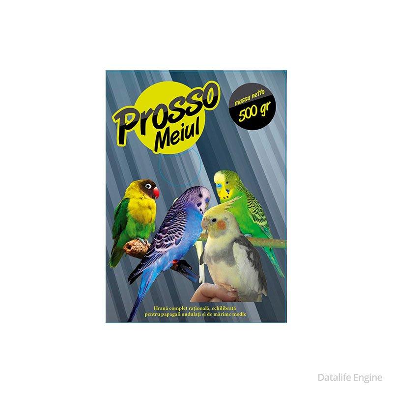 Полнорационный корм для  попугаев 500г Кишинев