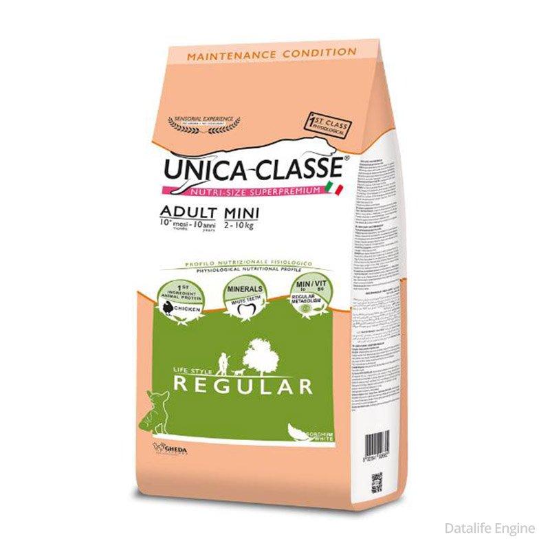 Супер премиум корм для собак мелких пород Unica Classe 7,5 kg Кишинев