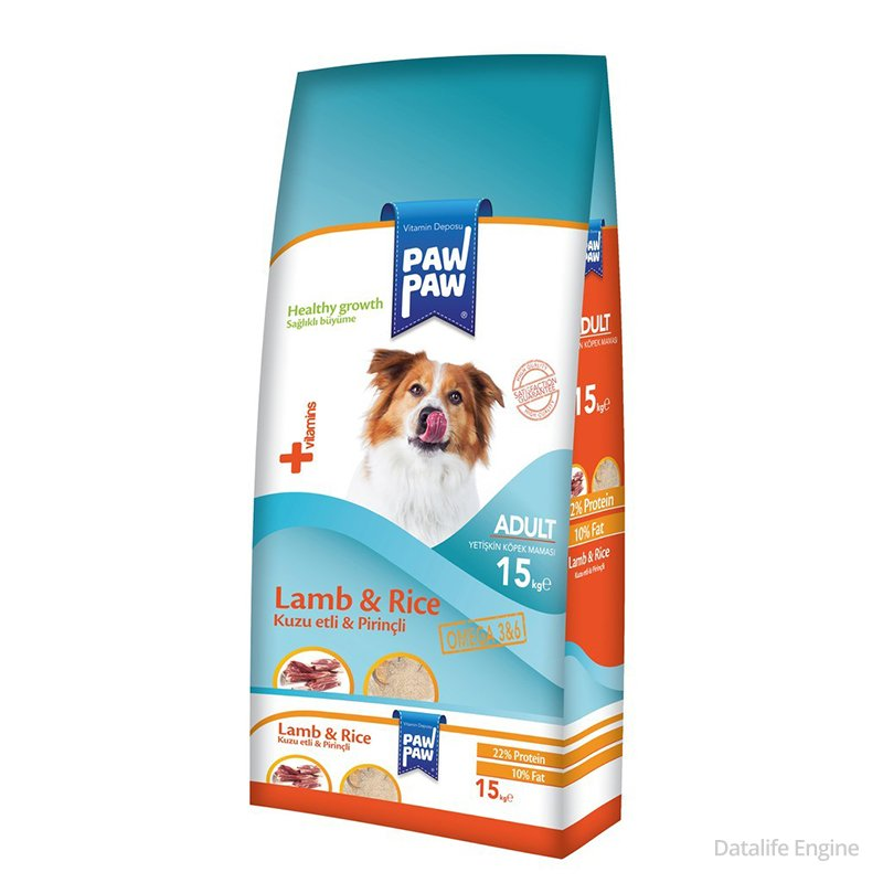 Сухой корм для собак из ягненка Paw Paw Lamb 20кг Кишинев